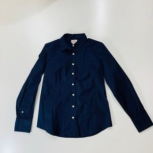 NWT J. Crew Navy Button Down Size Medium